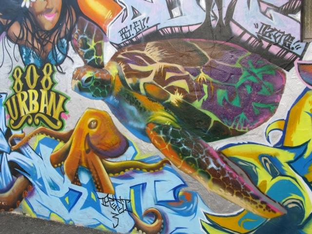 Hawaiian graffiti